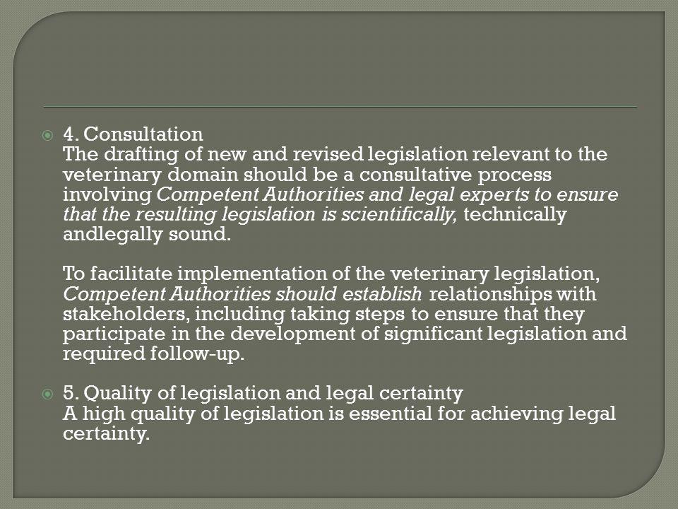 4. Consultation