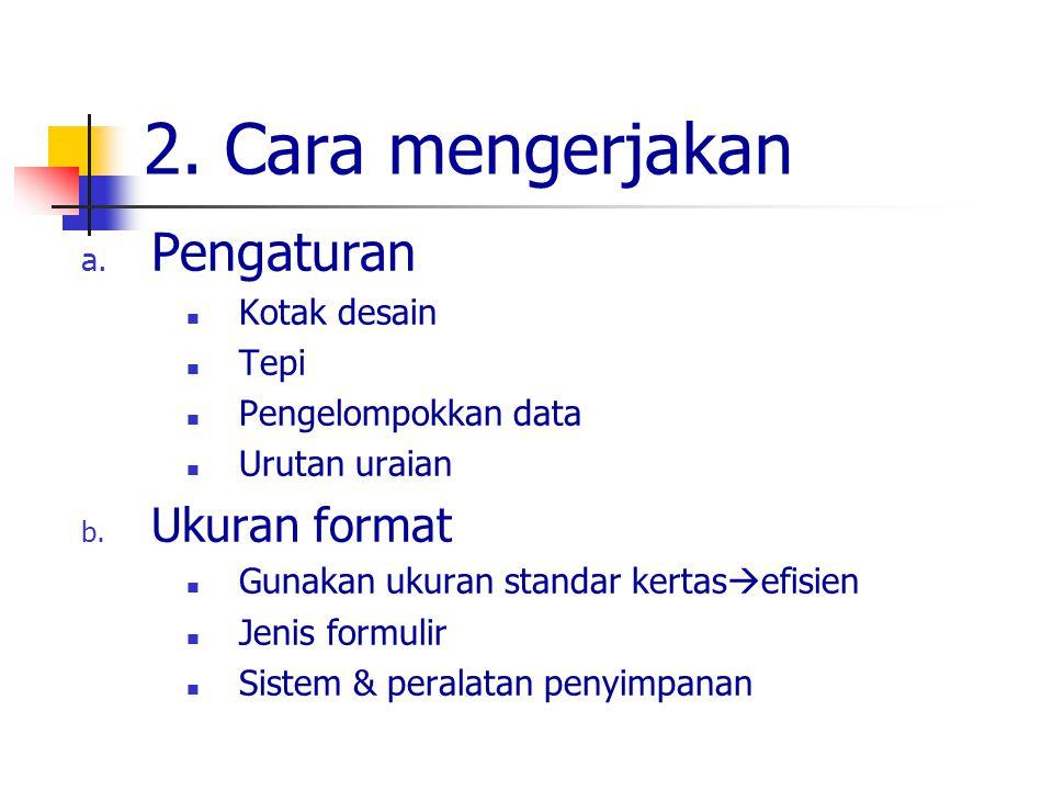 2. Cara mengerjakan Pengaturan Ukuran format Kotak desain Tepi
