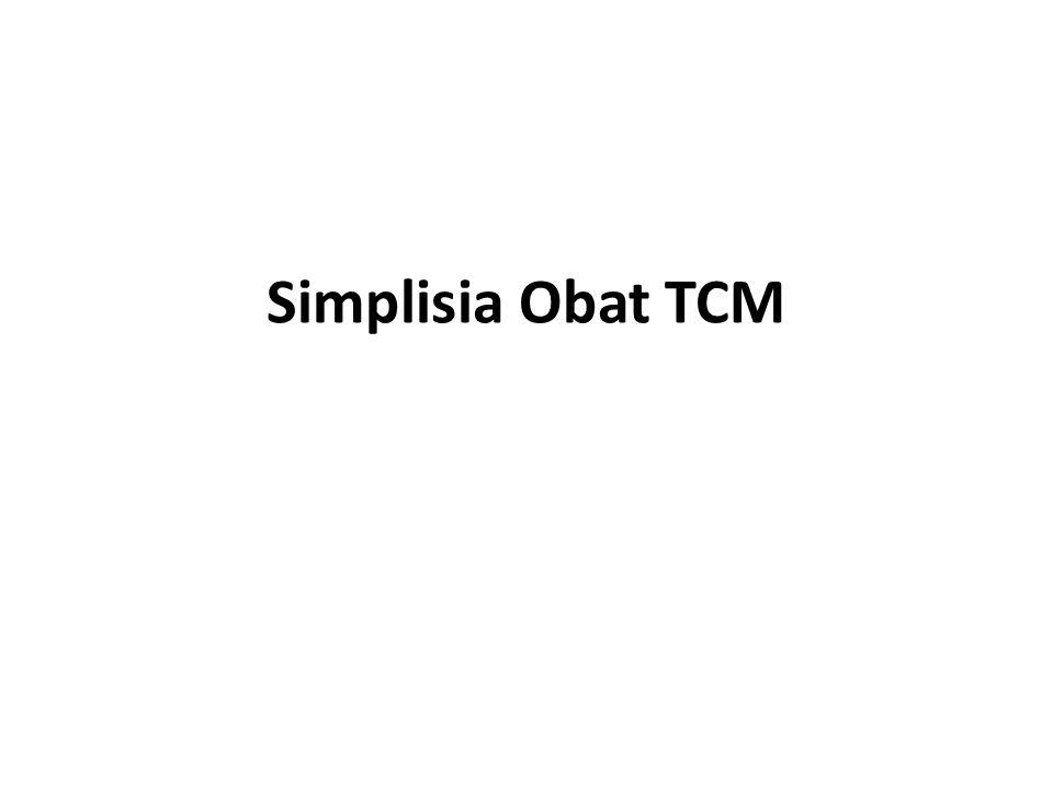 Simplisia Obat TCM