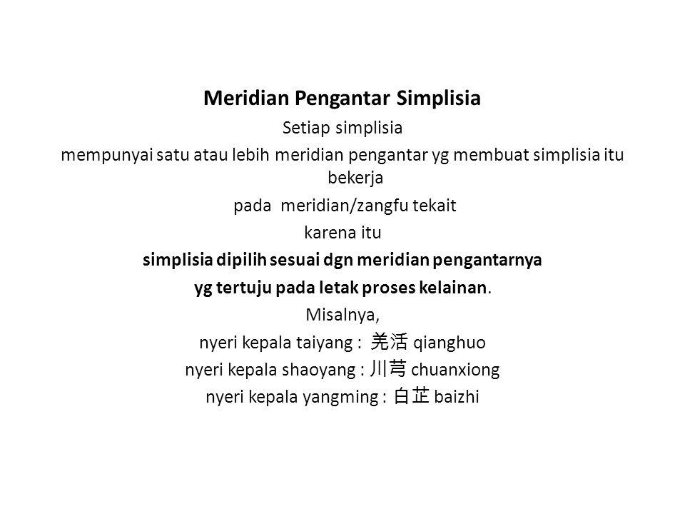 Meridian Pengantar Simplisia