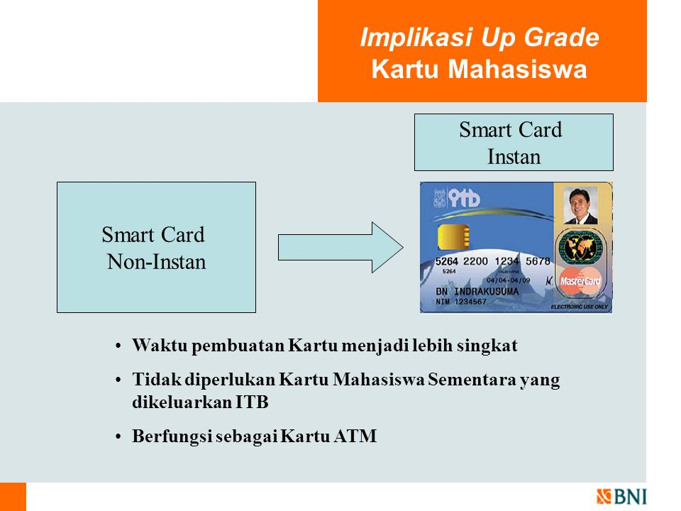 Implikasi Up Grade Kartu Mahasiswa