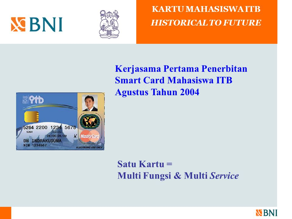 KARTU MAHASISWA ITB HISTORICAL TO FUTURE