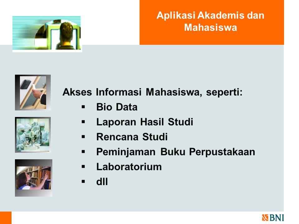 Aplikasi Akademis dan Mahasiswa