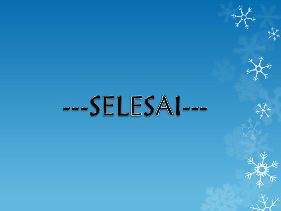---SELESAI---