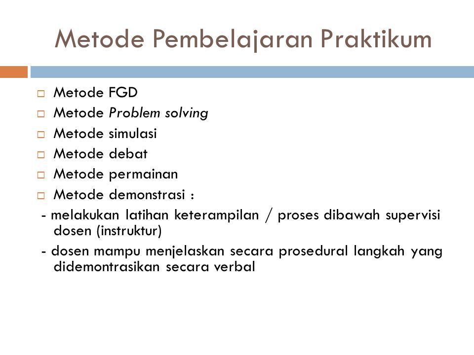 Metode Pembelajaran Praktikum