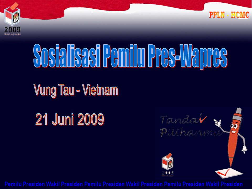 Sosialisasi Pemilu Pres-Wapres