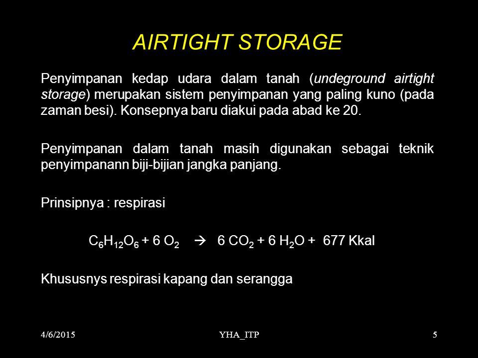 AIRTIGHT STORAGE