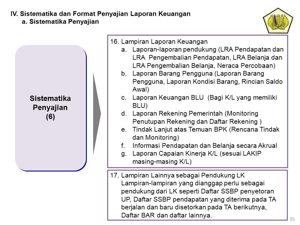 Sistematika Penyajian (6)