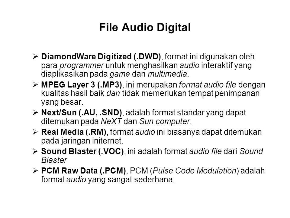 File Audio Digital