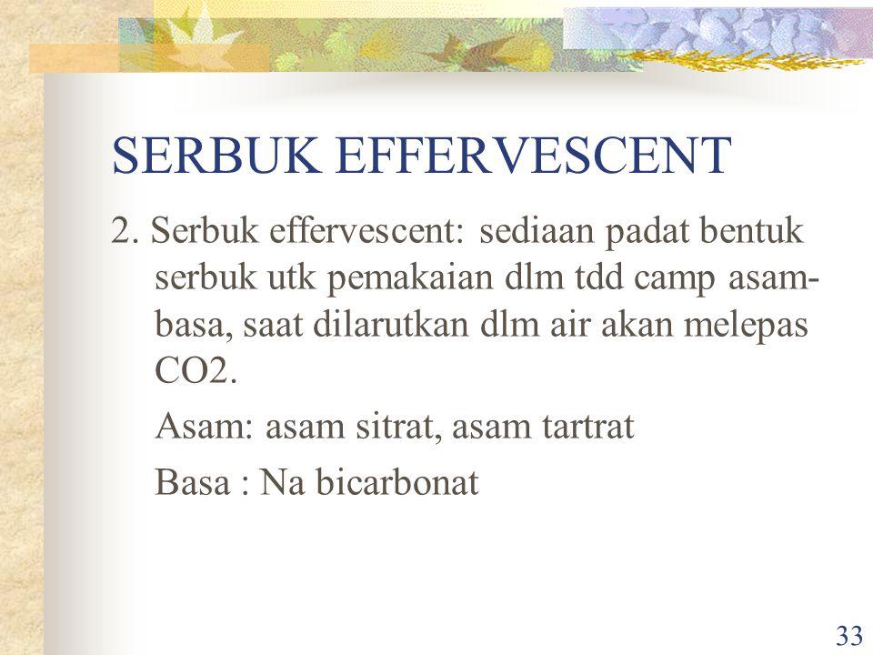 SERBUK EFFERVESCENT