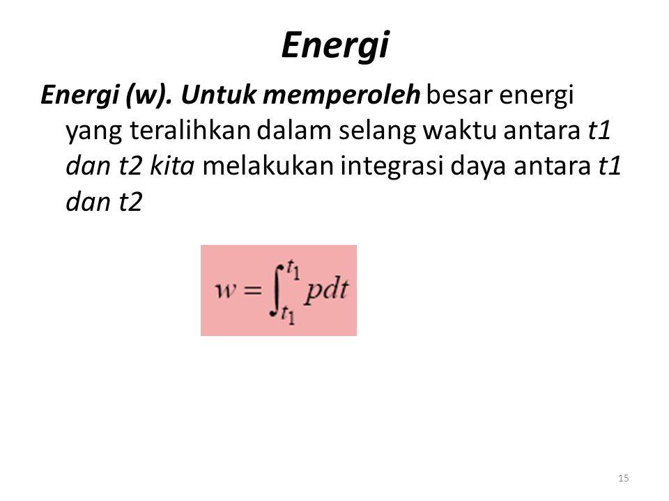 Energi Energi (w).