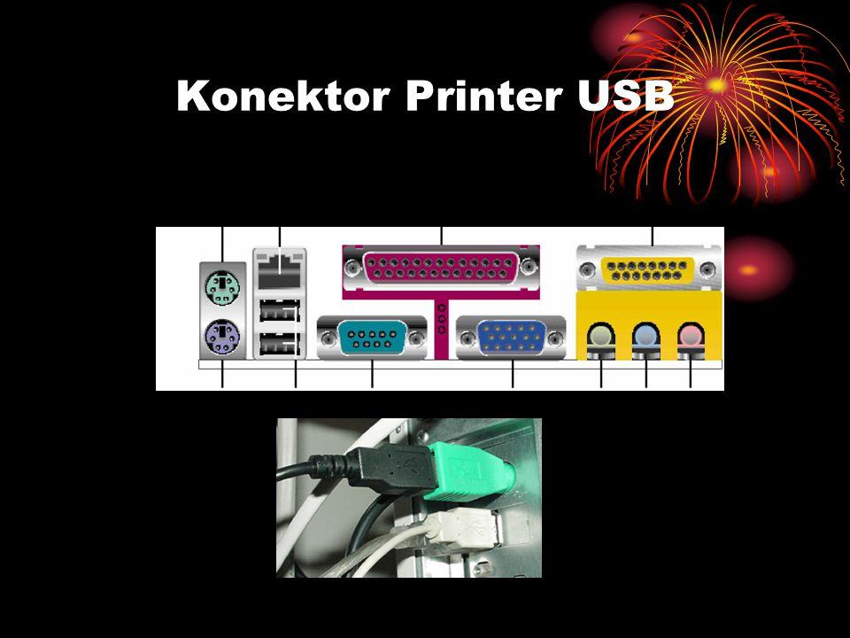 Konektor Printer USB
