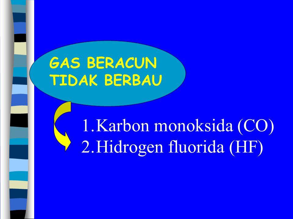 Hidrogen fluorida (HF)