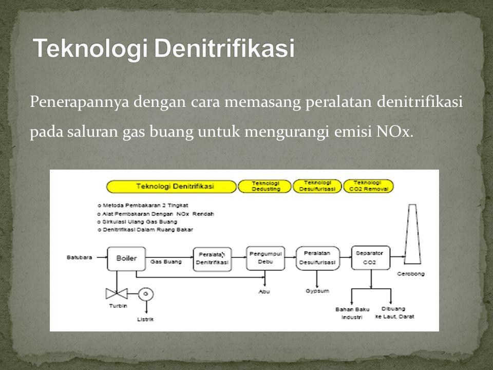 Teknologi Denitrifikasi
