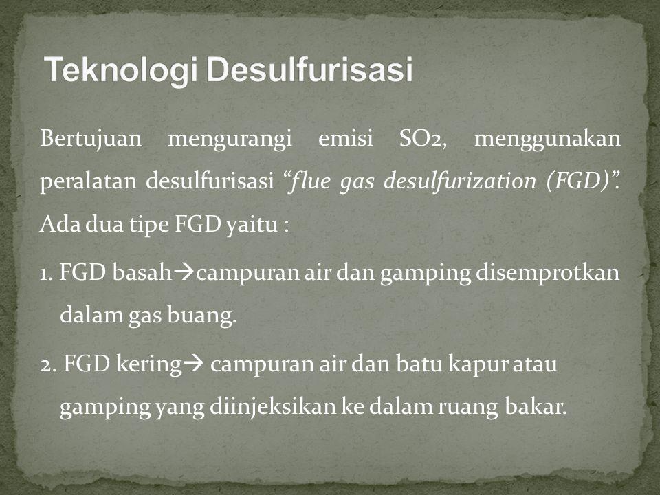 Teknologi Desulfurisasi