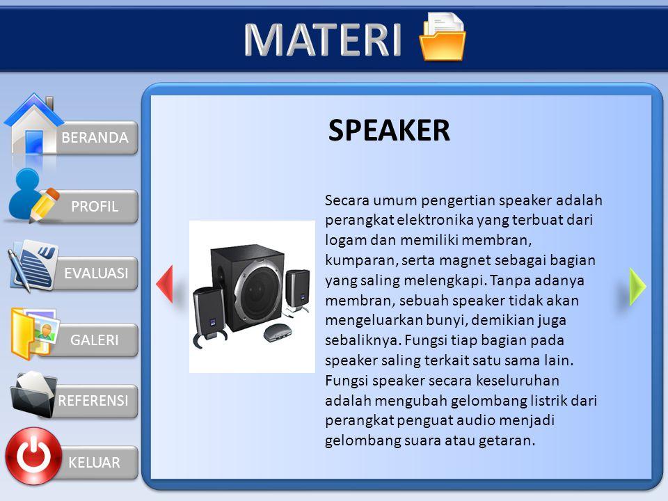 MATERI SPEAKER BERANDA