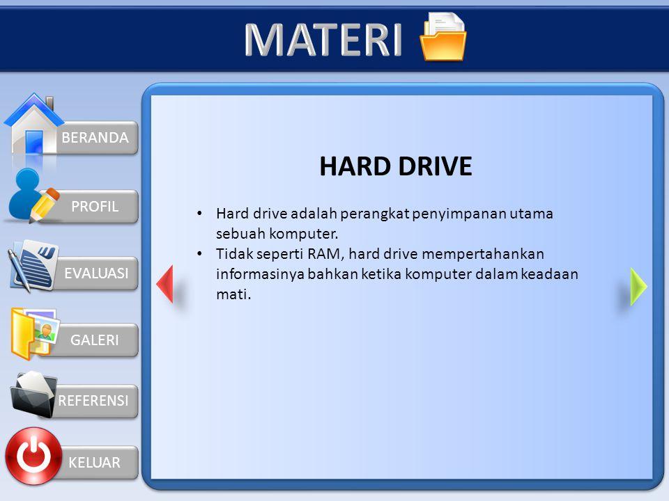 MATERI HARD DRIVE BERANDA