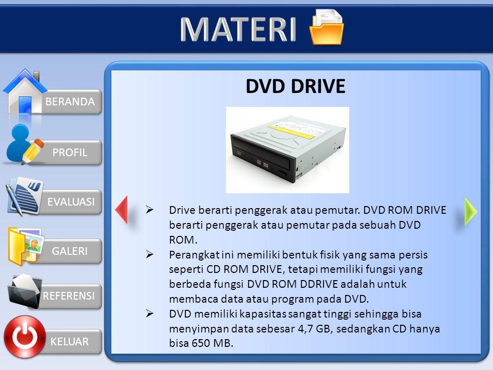 MATERI DVD DRIVE BERANDA