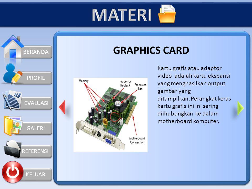 MATERI GRAPHICS CARD BERANDA