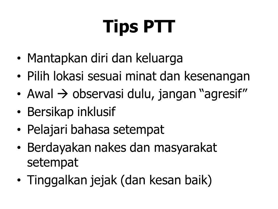 Tips PTT Mantapkan diri dan keluarga