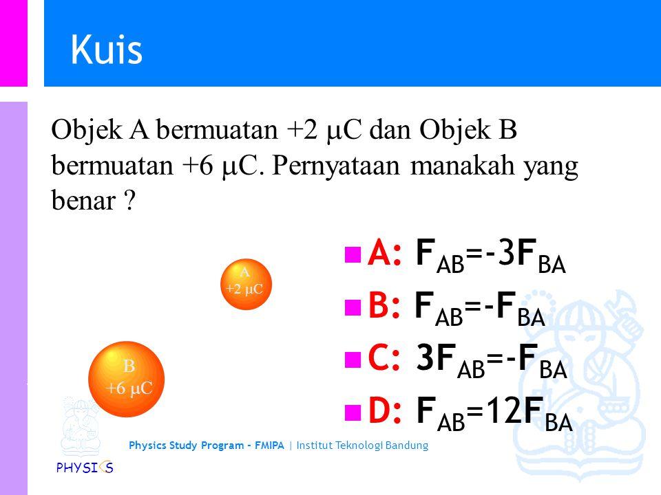 Kuis A: FAB=-3FBA B: FAB=-FBA C: 3FAB=-FBA D: FAB=12FBA