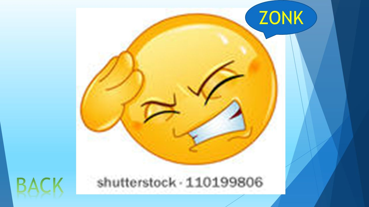 ZONK BACK