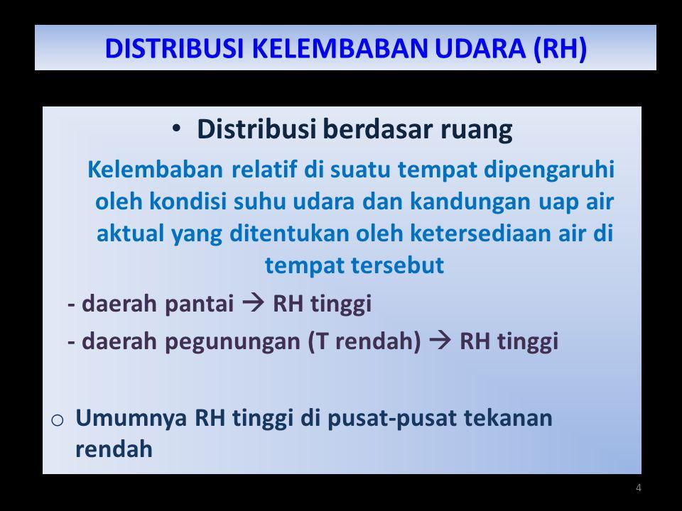 DISTRIBUSI KELEMBABAN UDARA (RH)