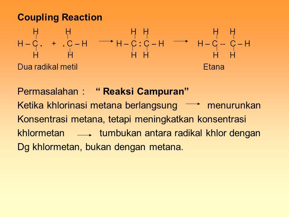 Permasalahan : Reaksi Campuran