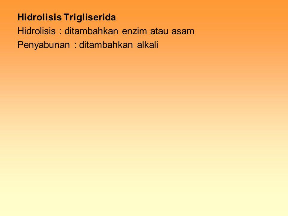 Hidrolisis Trigliserida