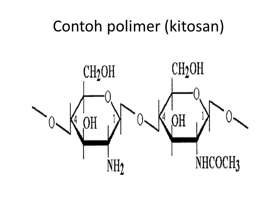 Contoh polimer (kitosan)