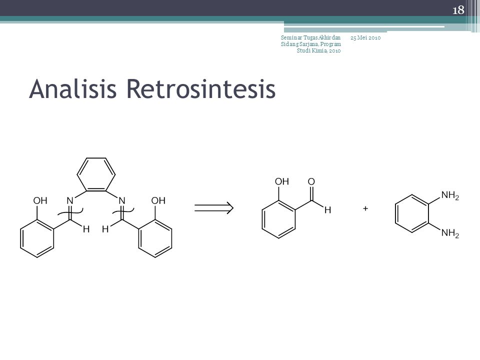Analisis Retrosintesis