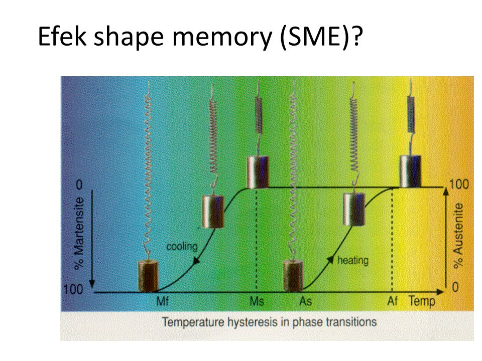 Efek shape memory (SME)