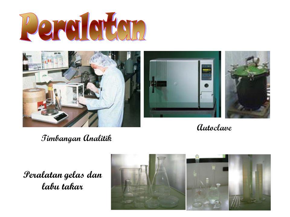Peralatan Timbangan Analitik Autoclave Peralatan gelas dan labu takar