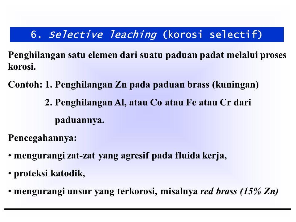 6. Selective leaching (korosi selectif)