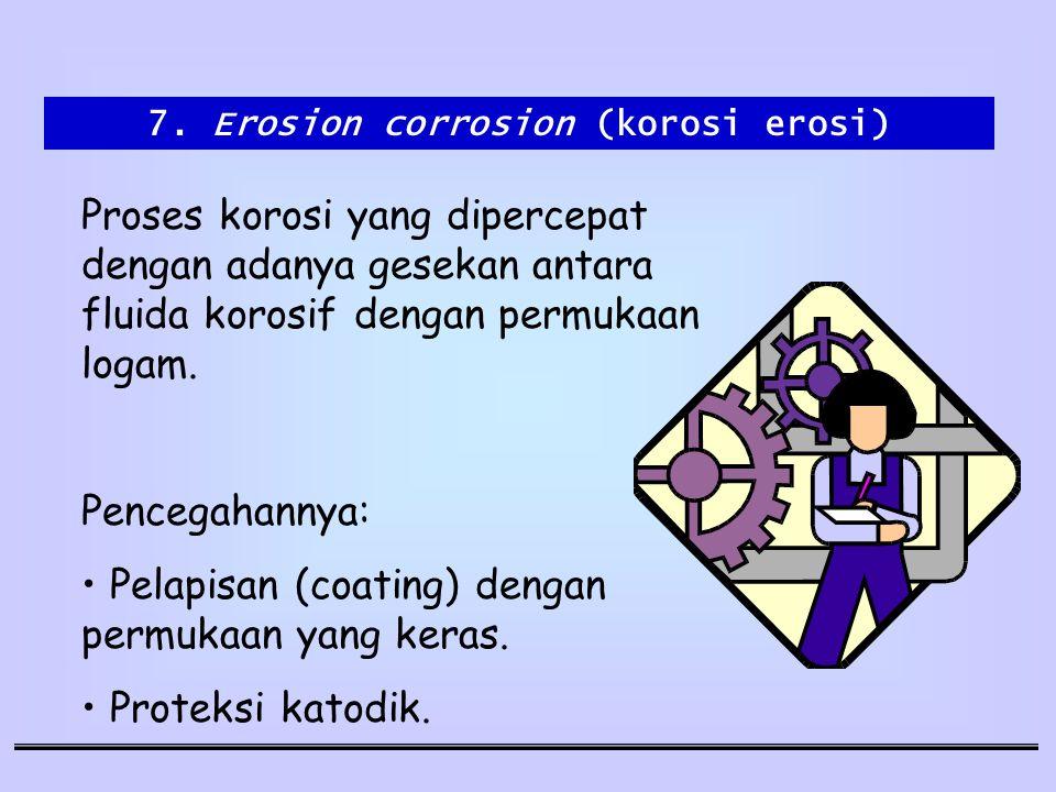 7. Erosion corrosion (korosi erosi)