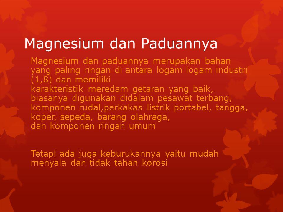 Magnesium dan Paduannya