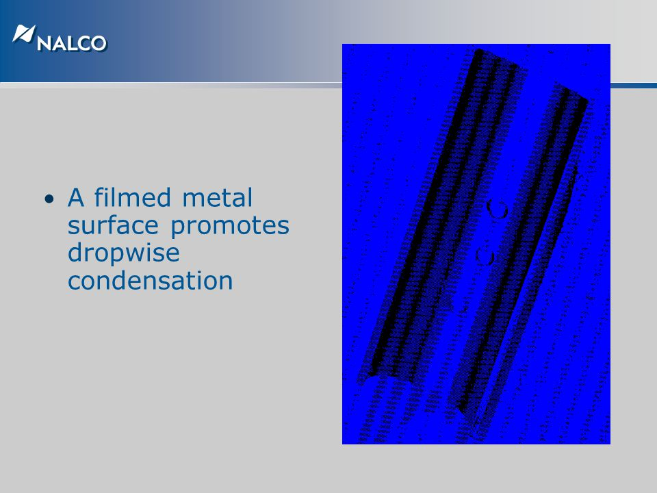 A filmed metal surface promotes dropwise condensation