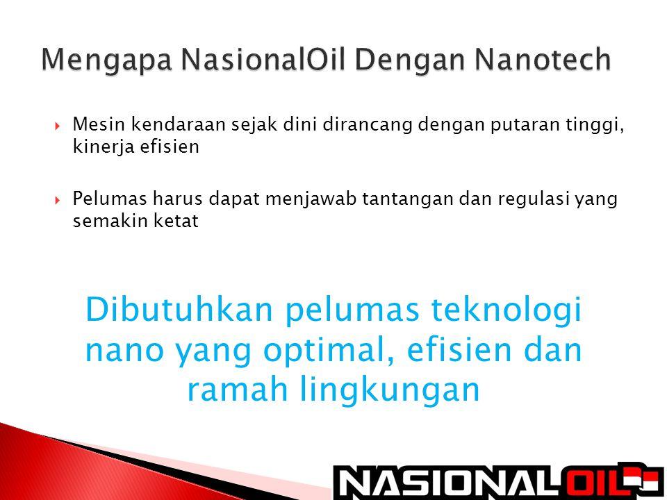 Mengapa NasionalOil Dengan Nanotech
