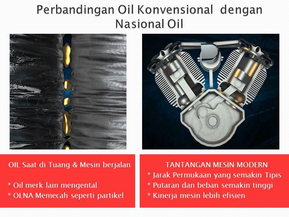 Perbandingan Oil Konvensional dengan Nasional Oil