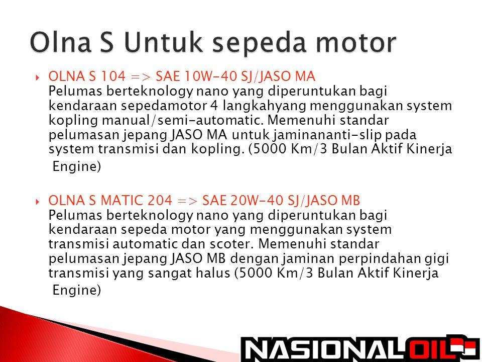 Olna S Untuk sepeda motor