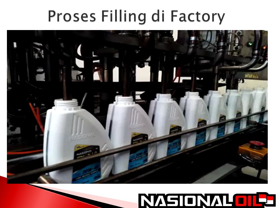 Proses Filling di Factory