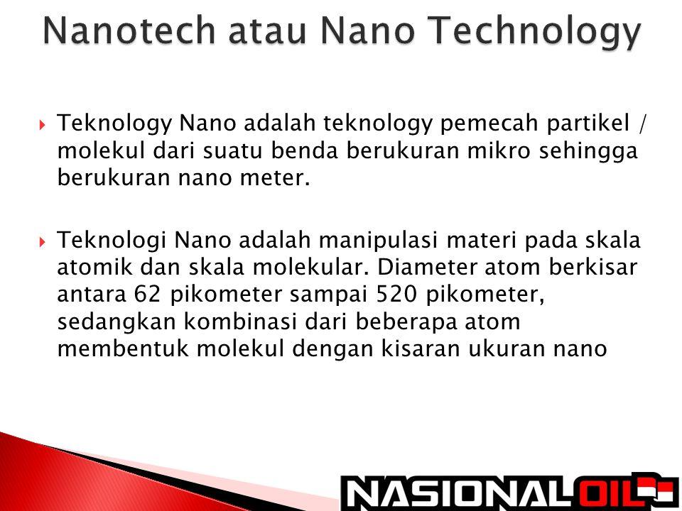 Nanotech atau Nano Technology