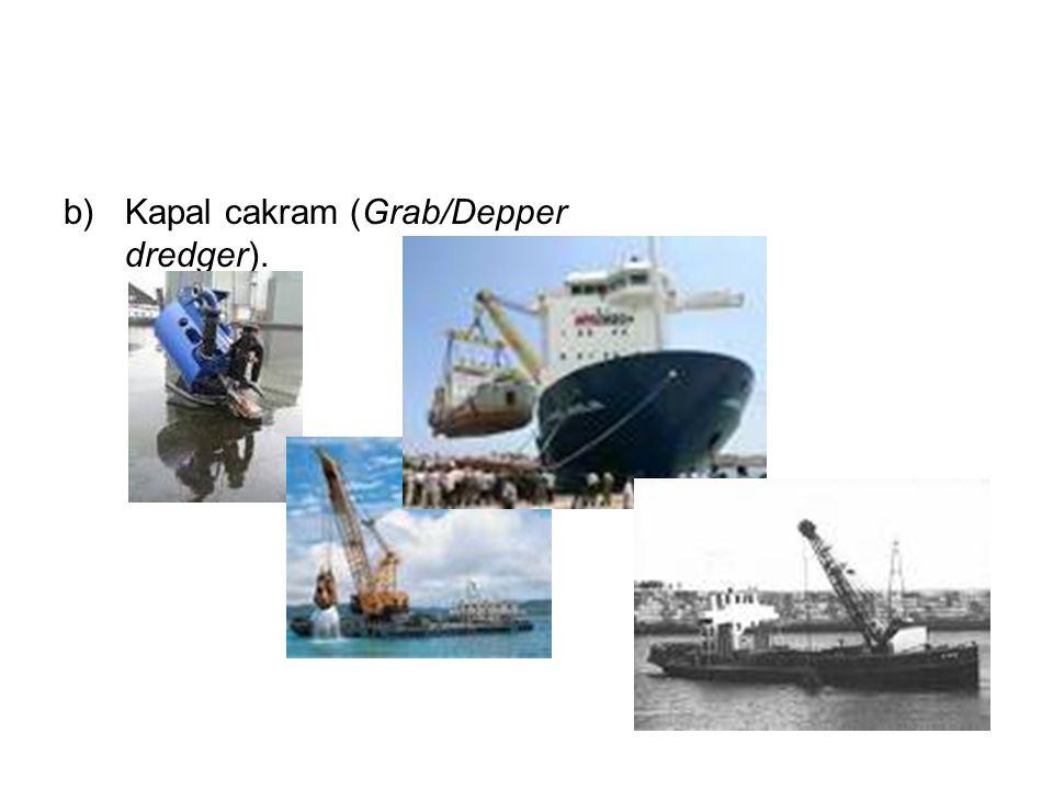 Kapal cakram (Grab/Depper dredger).