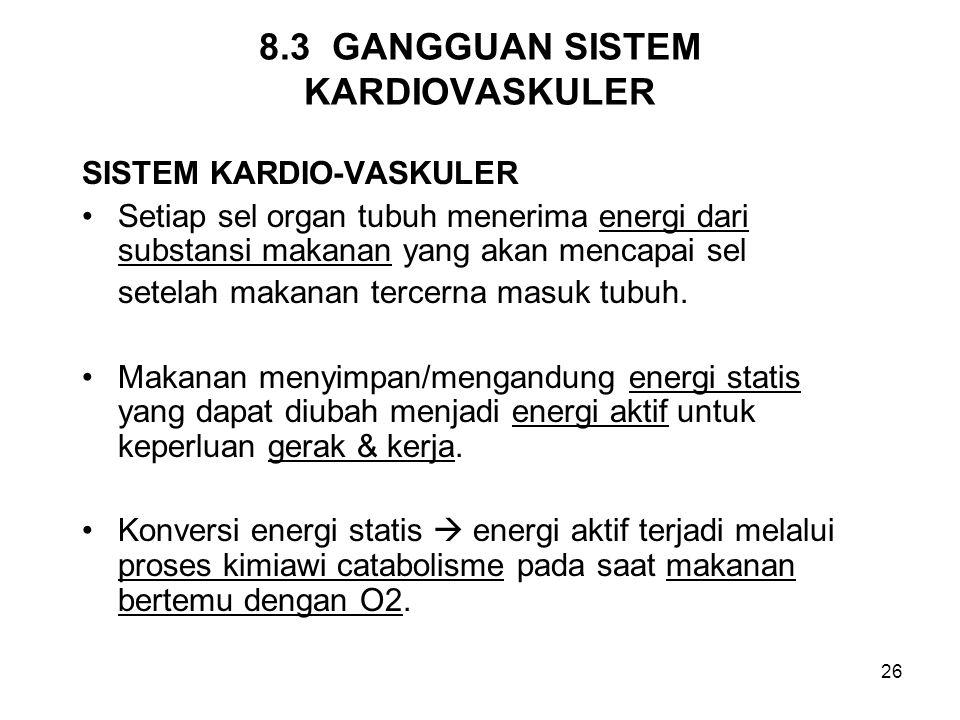 8.3 GANGGUAN SISTEM KARDIOVASKULER