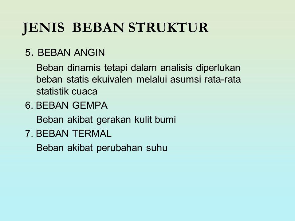 JENIS BEBAN STRUKTUR 5. BEBAN ANGIN