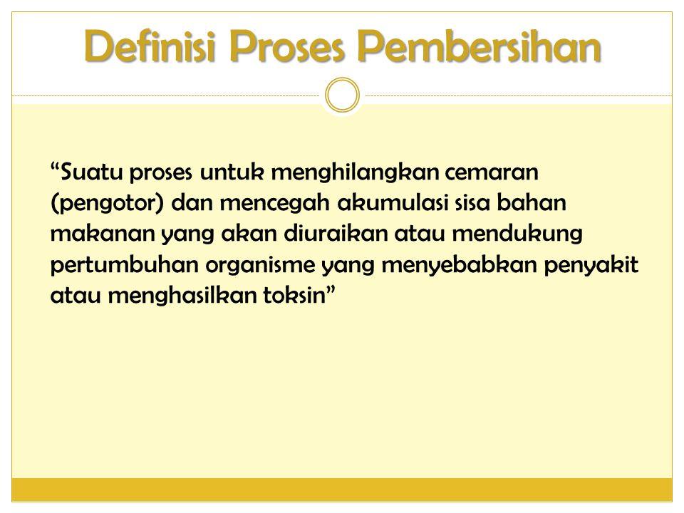 Definisi Proses Pembersihan