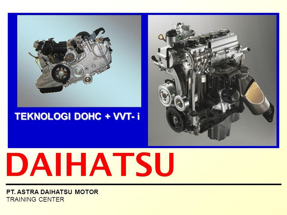 DAIHATSU TEKNOLOGI DOHC + VVT- i PT. ASTRA DAIHATSU MOTOR