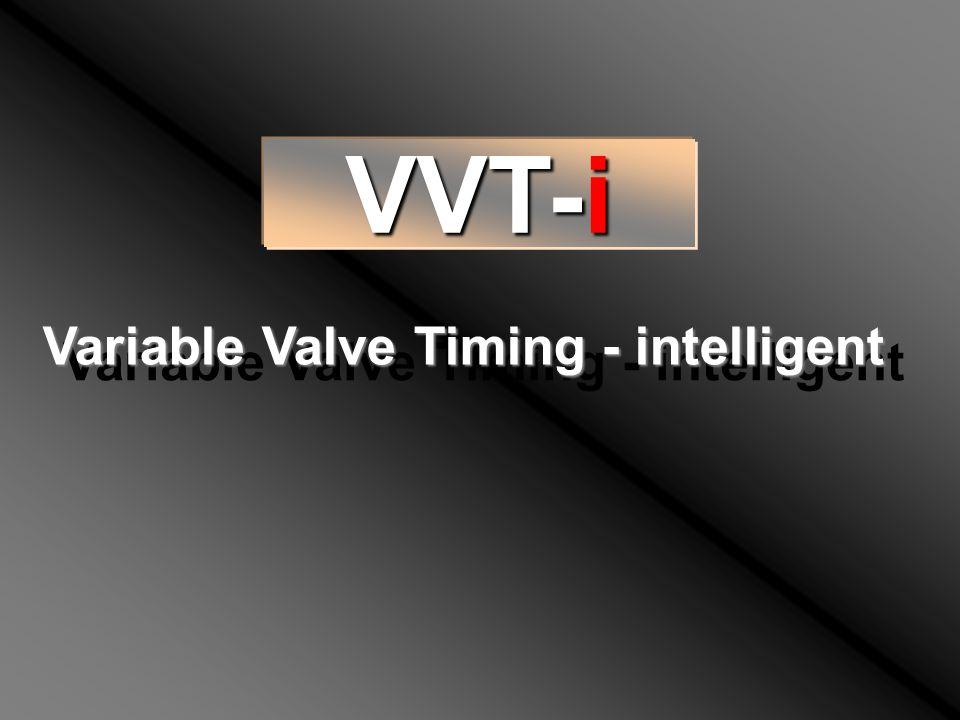 VVT-i Variable Valve Timing - intelligent