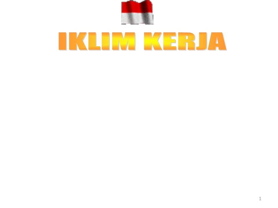 IKLIM KERJA 1