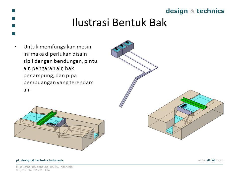 Ilustrasi Bentuk Bak design & technics